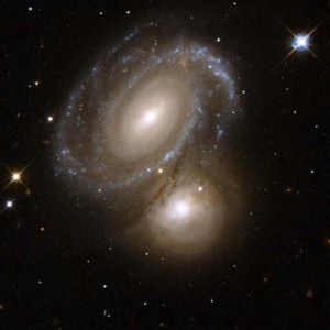 Hubble Photo of AM 0500-620