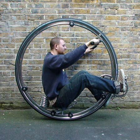 Ben Wilson\'s Monowheel