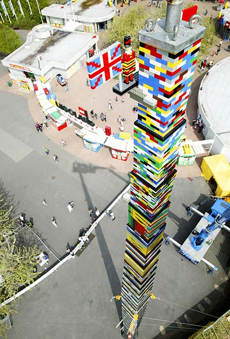 World Record for Tallest Lego Tower