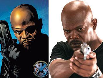 Samuel L. Jackson Won't Be Nick Fury in Iron Man 2?