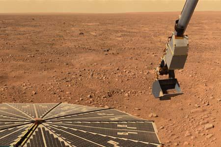 Mars Lander Robotic Arm