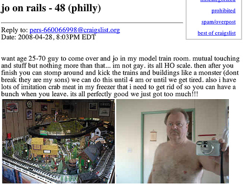 craigslist  personal casual hookups